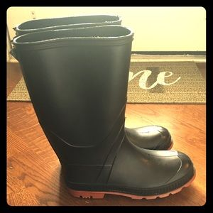 Other - Black Rain Boots